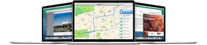 OS X Mavericks en los nuevos MacBook Pro