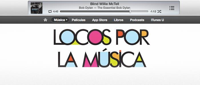 Ofertas tienda de música iTunes STore