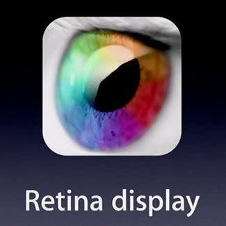 Icono de la pantalla Retina
