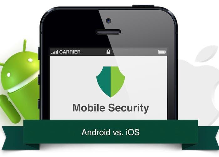 Seguridad móvil, Android contra iOS