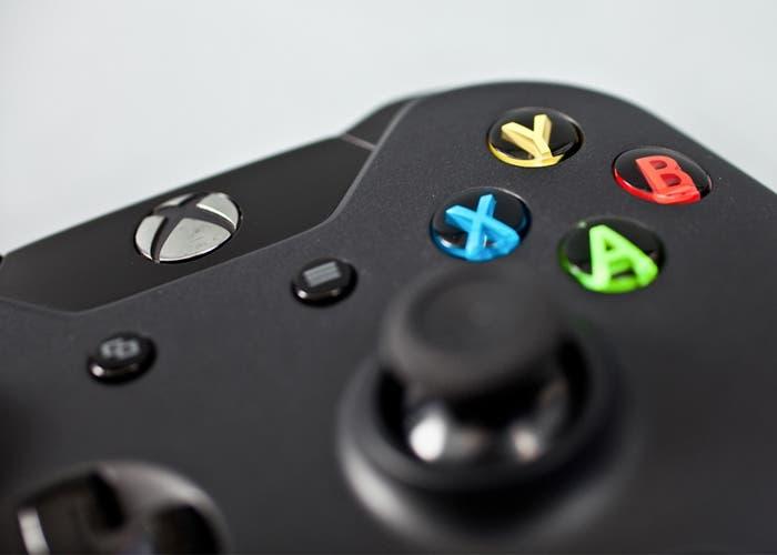 Botones del mando de Xbox One