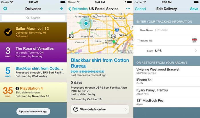 Actualización Delivery Status Touch para iOS 7