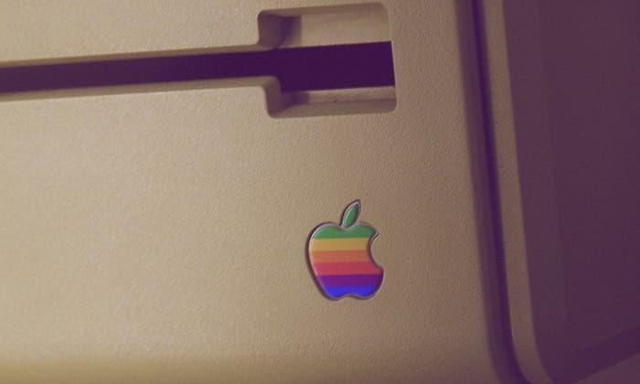 Logotipo de Apple en el Lisa