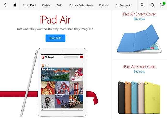 La aplicación de la Apple Store llega al iPad