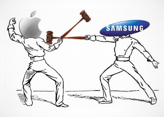 Lucha entre Apple y Samsung