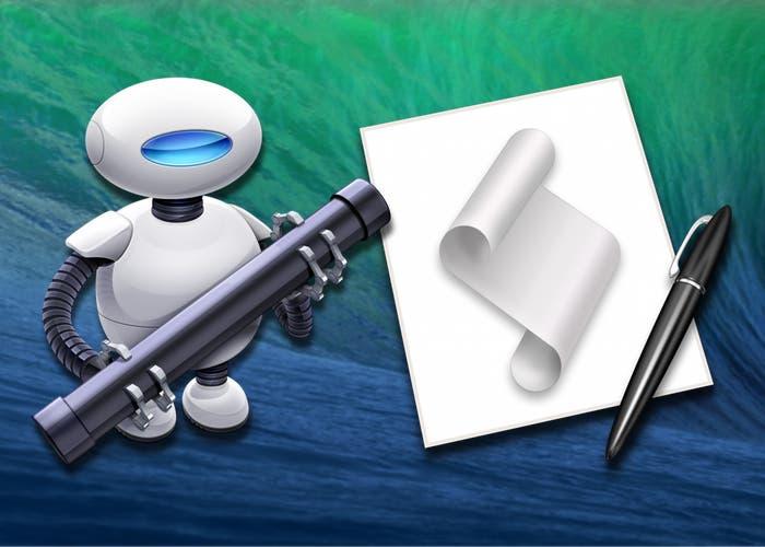 Mejoras de automatización en OS X Mavericks