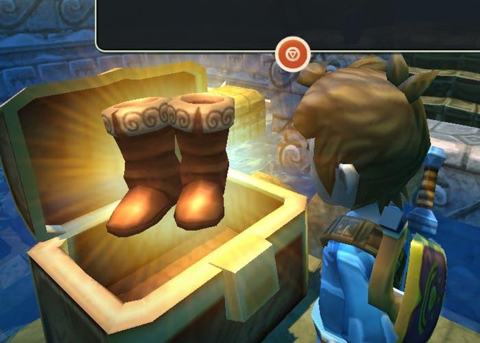 Como conseguir las botas para saltar en Oceanhorn