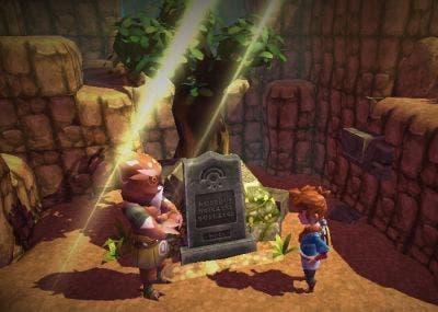 Captura de pantalla de oceanhorn