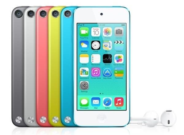 Colores disponibles del iPod touch