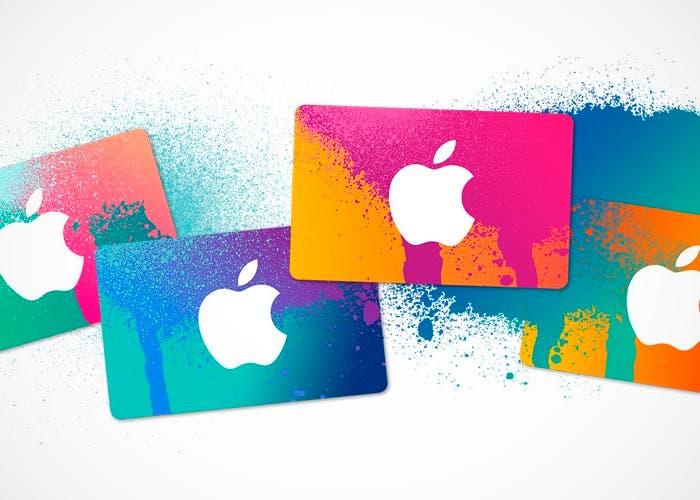 Nuevo diseño de las tarjetas regalo de iTunes