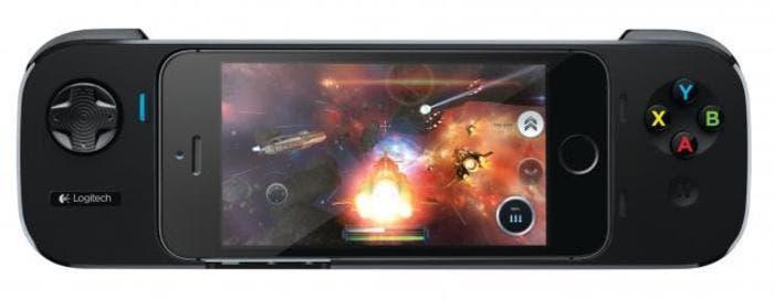 Controlador para juegos en iOS de Logitech