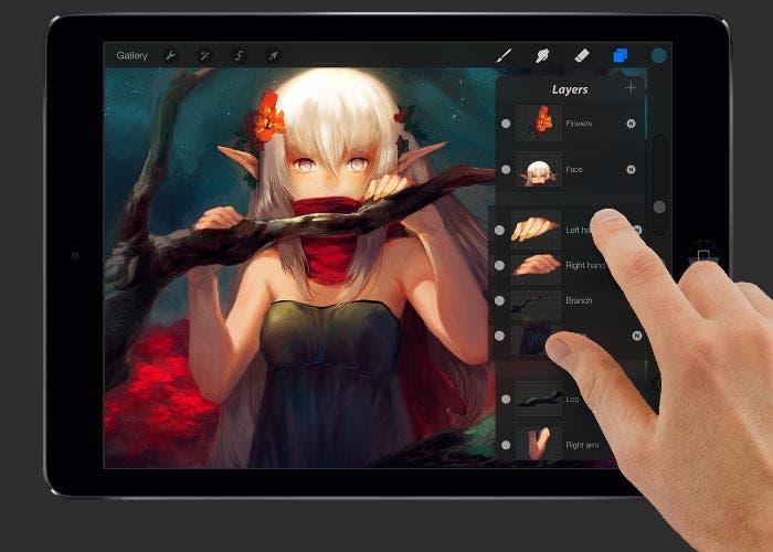 La aplicación de dibujo Procreate para iPad se hace compatible con ...