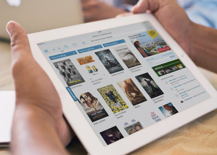 Video Explorer en el iPad