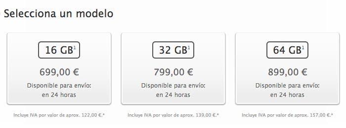 Disponibilidad del iPhone 5s