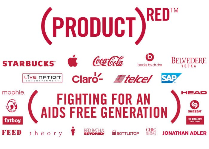 Marcas product RED
